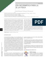 Una aplicación informática para la enseñanza de la Física