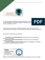 ganadores premios fundación telefónica 2012