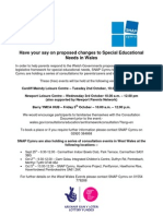 Educational Consultation Event