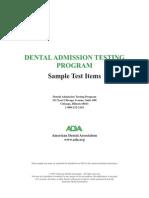 Dat Test Sampleitems (1)2
