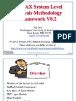 WiMAX System Level Analysis Methodology Framework V0.2