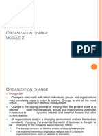 organisation Change