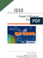 Cgid Gb 2000 Guide utilisateur v3