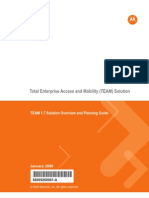 TEAM 1.7 Solution Overview and Planning Guide 68009260001-A