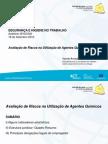 Avaliação de Riscos na Utilização de Agentes Químicos