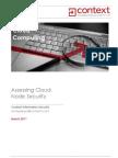 Context-Assessing Cloud Node Security-Whitepaper