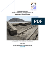 Technical Guidelines on Improved Small Dams South Sudan