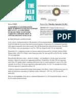Field Poll/Tax Increase Initiatives