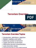 Terrorism Overview