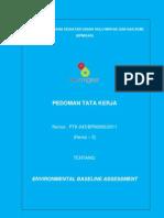 PTK Environment Baseline Assessment [PTK-045-2011]