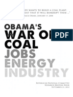 Obama's War On Coal