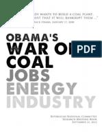 Obama's War On Coal