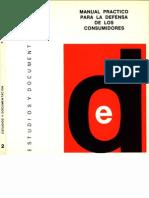 Nº 2 (Primera Etapa) Manual para la defensa de los consumidores