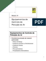 Filtração de gases Rec_Atm(moduloVI)