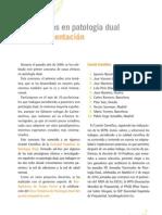 1. Presentación Casos en Patología Dual