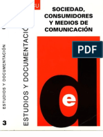 Nº 3 (Primera Etapa)  Sociedad y medios de comunicación