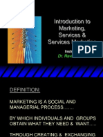 01 - Services Marketing