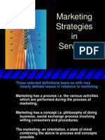 Service Strategies 2012