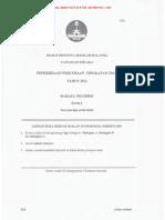 PMR Trial 2012 BI2 (Melaka) Q&A