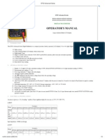 DT92xx Multimeter