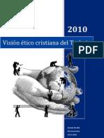 visión ético cristiana del trabajo