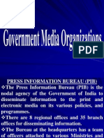 Government Media Organizations