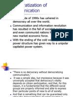 Democratization Of