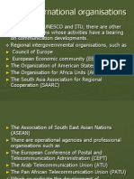 Other International Organisations