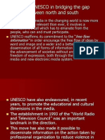 Role of UNESCO in Bridging the Gap Between