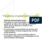 The Policies of Global Communication
