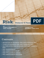 Business Risk and Financial Risk by Touseef