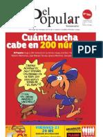 El Popular N° 200 - 21/9/2012