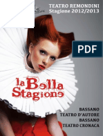 Stagione Teatrale Bassanese 2012-13