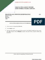 PMR Trial 2012 BC (N9)
