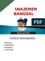 Manajemen Bangsal