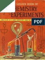 O Livro de Ouro dos Experimentos Químicos [RARIDADE]