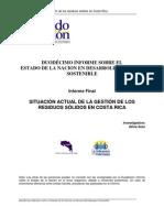 XII Informe Estado Nación
