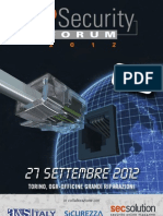 ADVANTEC IP Security Forum 2012 - Torino