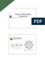 2 - Circuit Switching - Signaling