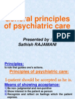 General Principles of Psychiatric Care