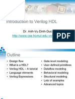 Introduction to Verilog (Dr. Vu)
