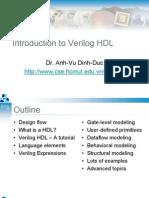 Introduction to Verilog (Dr. Vu)