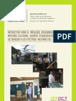 INSTRUCTIVO para el traslado, resguardo y custodia del material electoral, equipos tecnológicos y equipos del SIE dirigido a los efectivos militares del PLAN REPÚBLICA