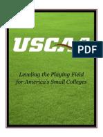 uscaa marketing packet - 2012 -13 updated
