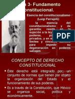 Tema 3 Fundamento Constitucional