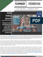 Senator Nina Turner   September 2012   E-newsletter