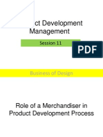 Session 11 Role of Merch. in PD Process