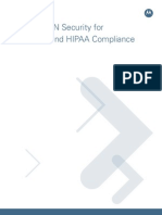 Wireless LAN Security for Healthcare HIPAA Compliance