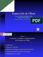 Tema 7 Controles y Tramites Administrativos de Los Contratos de Obras