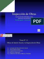Tema 11 Obras de Interés Social y la Inspección de Obras